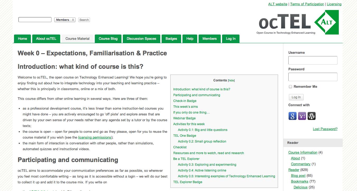 ocTEL site
